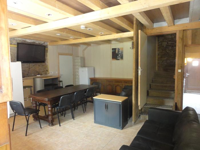 Gîte La Baie Centrale salle à manger